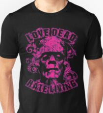 Love Dead Hate Living Pink T-Shirt