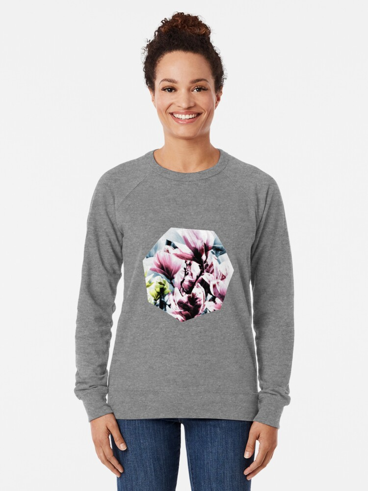 Alternative Ansicht von Magnolia 01 Leichtes Sweatshirt