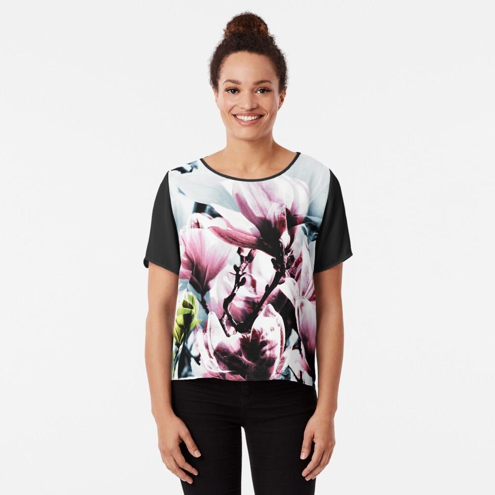 Magnolia 01 Chiffontop für Frauen Vorne