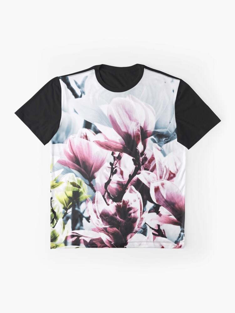 Alternative Ansicht von Magnolia 01 Grafik T-Shirt