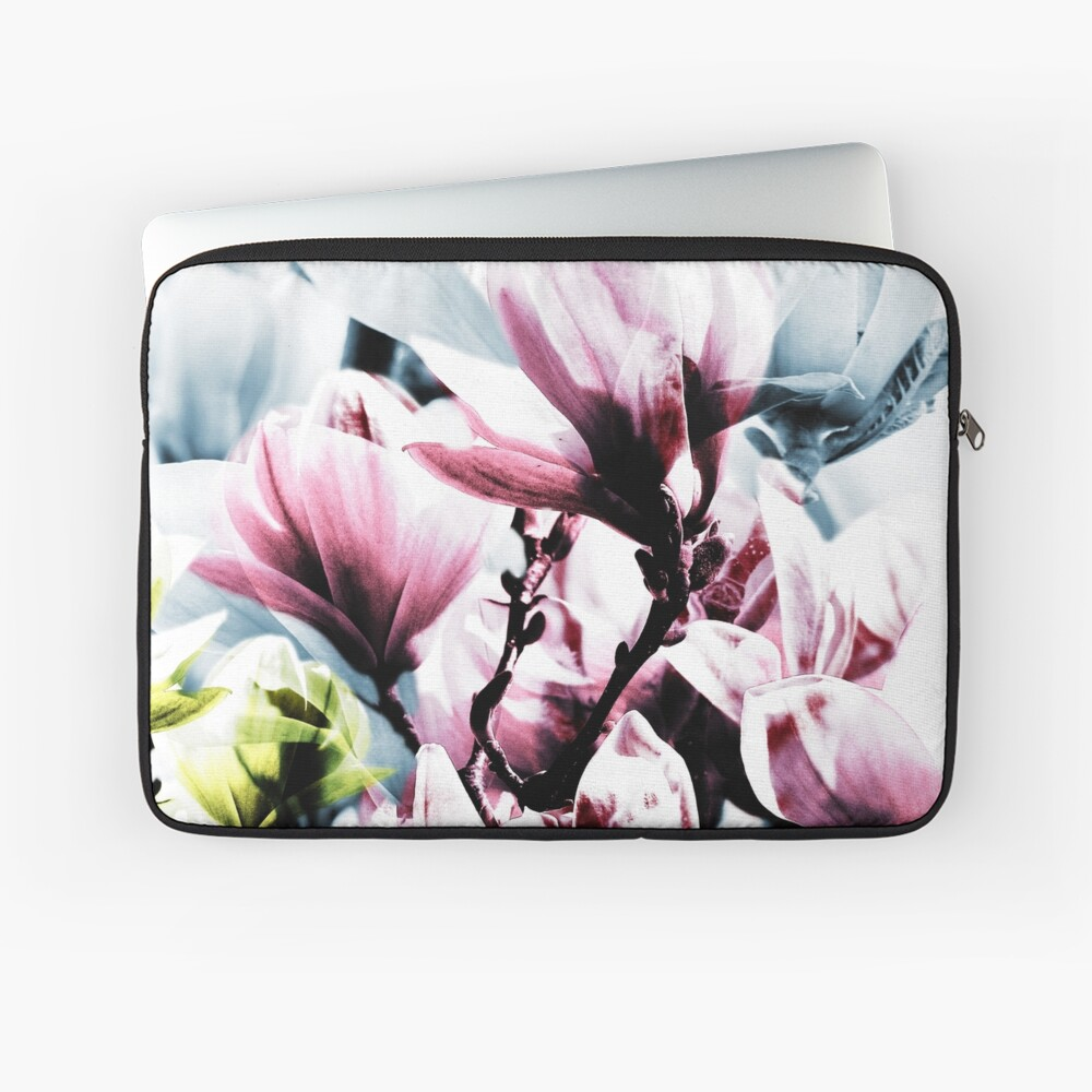 Magnolia 01 Laptoptasche Vorne