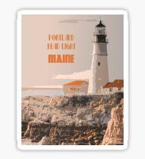 Portland Head light Maine Sticker