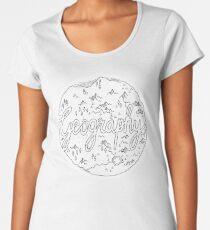 geography Women's Premium T-Shirt