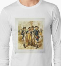 Infantry: Continental Army 1779-1783 by H.A. Ogden (1879) T-Shirt