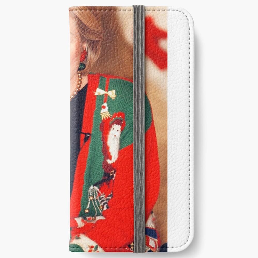 Jersey de Navidad de Hillary Clinton Fundas tarjetero para iPhone