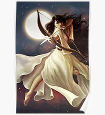 Göttin des Mondes Poster