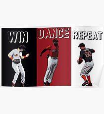 Win Dance Repeat Poster