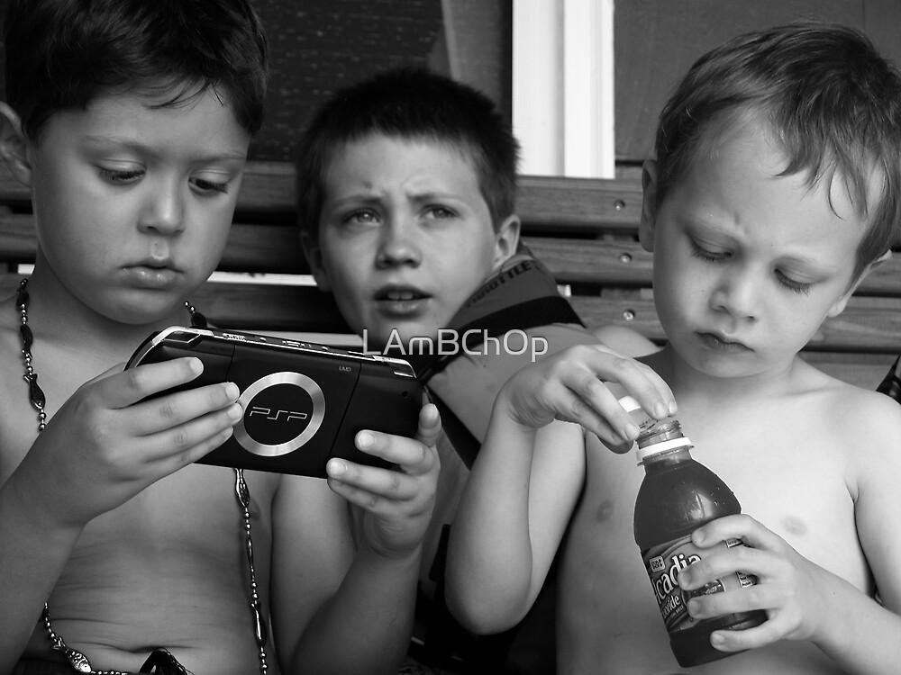 The Boyz at Moodus by LAmBChOp