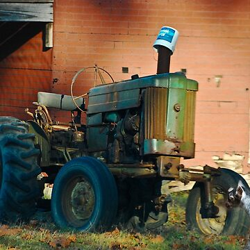 Very Old Tractor by imagetj