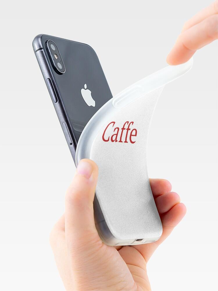 Alternative Ansicht von Caffe - Deep Learning Framework iPhone-Hüllen & Cover