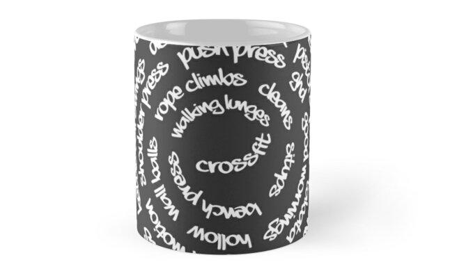 Crossfit - Spiral Words by chinggay