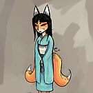 Kitsune by godlessmachine
