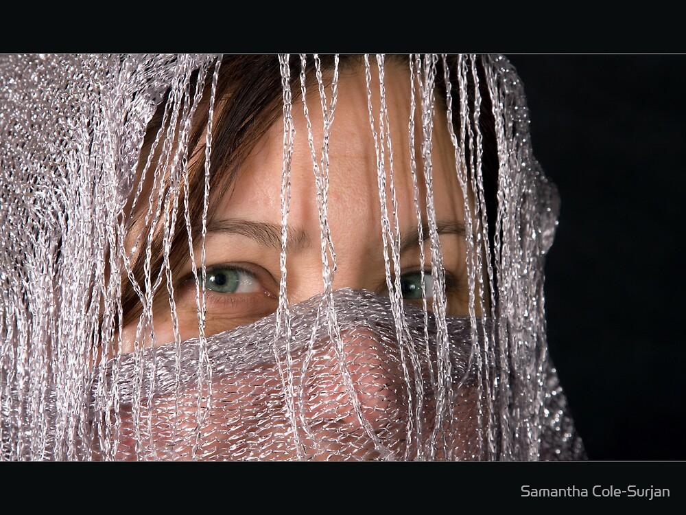 Green eyes by Samantha Cole-Surjan