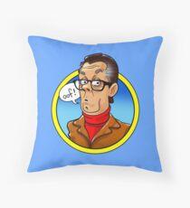 john shuttleworth Throw Pillow