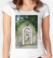 Main Well Dressing, Rowsley 2011 Women's Fitted Scoop T-Shirt