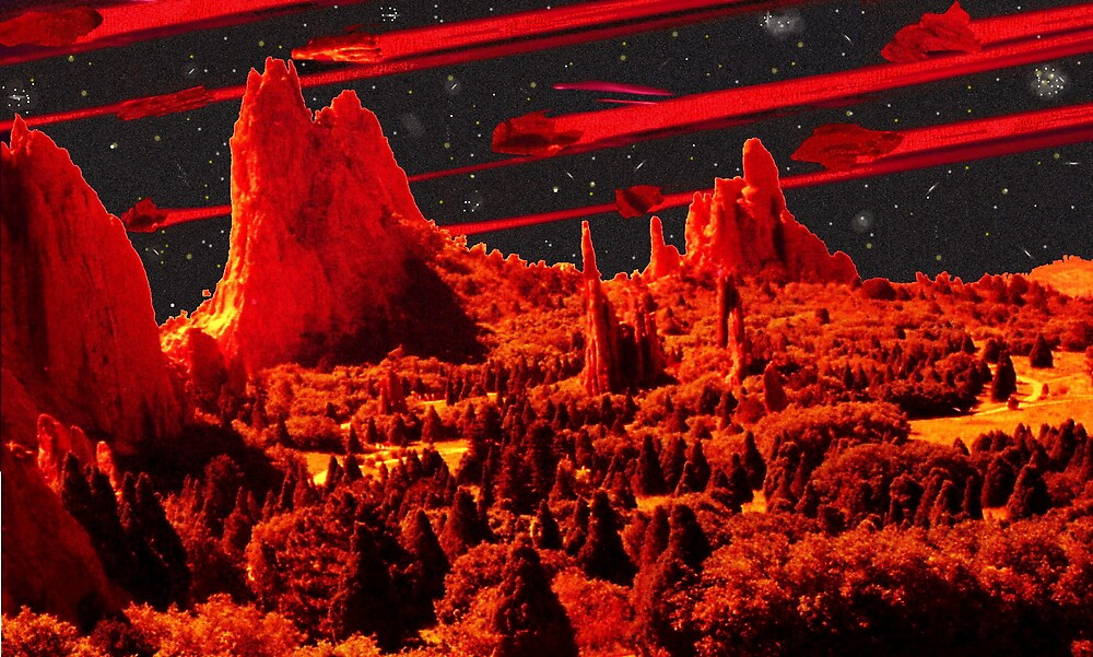 Asteroids over Colorado by Harlan Mayor