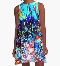 Ink A-Line Dress