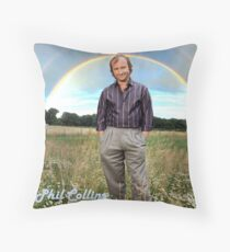 Phil Collins, the legend.  Throw Pillow