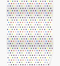 Quadrat - Rinebogen Poster