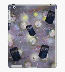 time and space dr who iPad Case/Skin