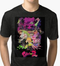 Splatoon 2 Poster Tri-blend T-Shirt