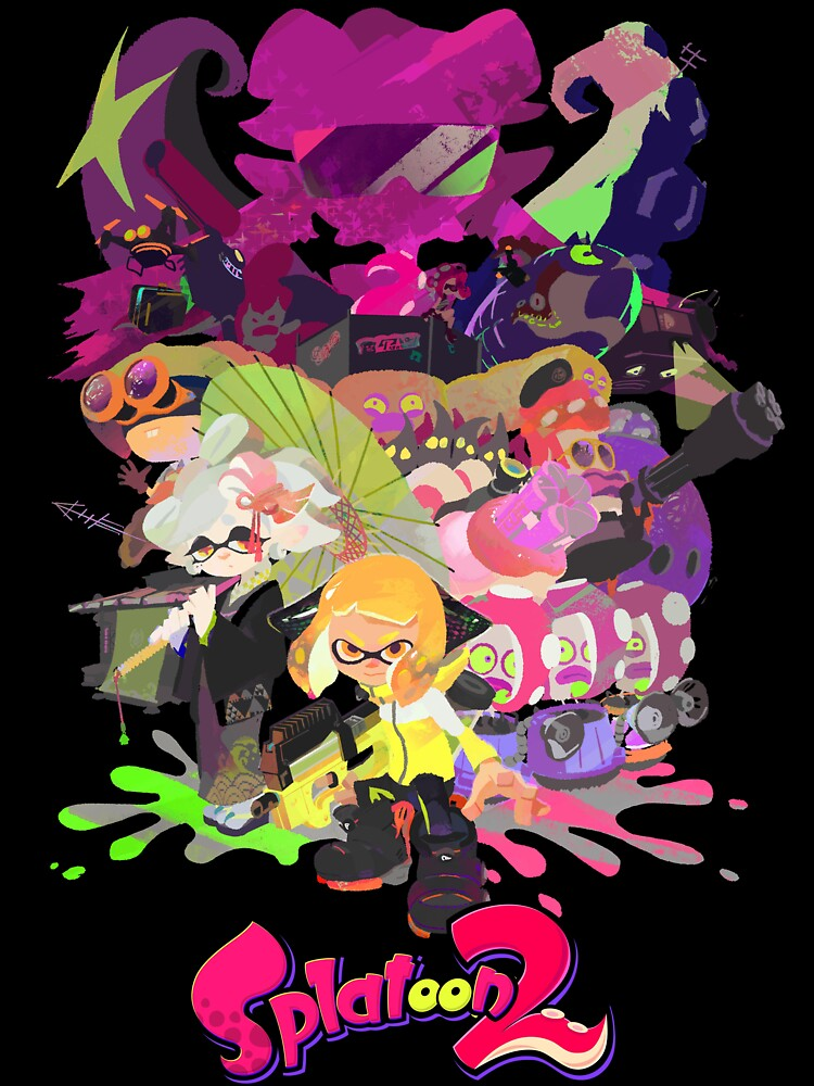 Póster Splatoon 2 de Assassinhedgie