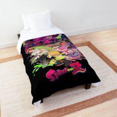 Splatoon 2 Poster Comforter