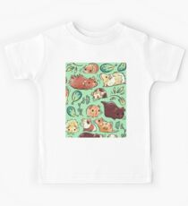 Guinea Pig Huddle Kids T-Shirt