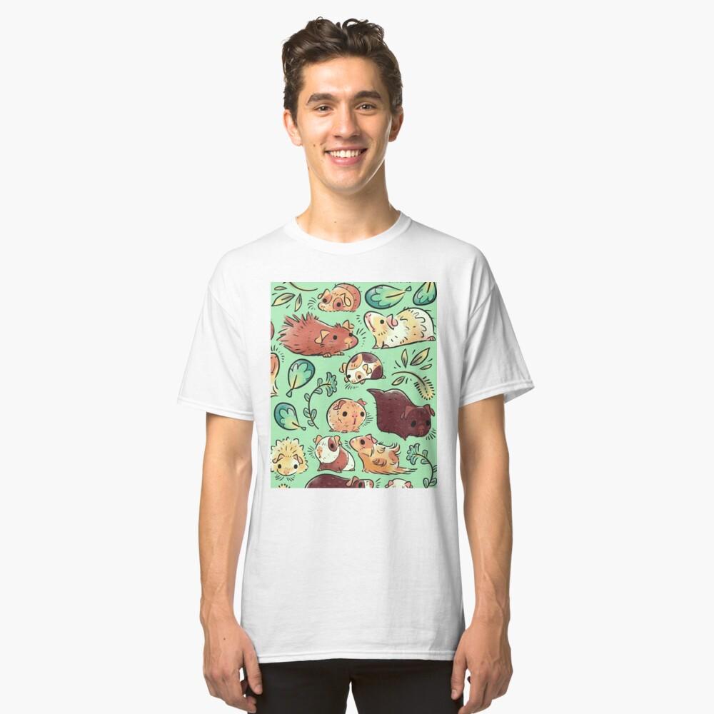 Meerschweinchen-Huddle Classic T-Shirt