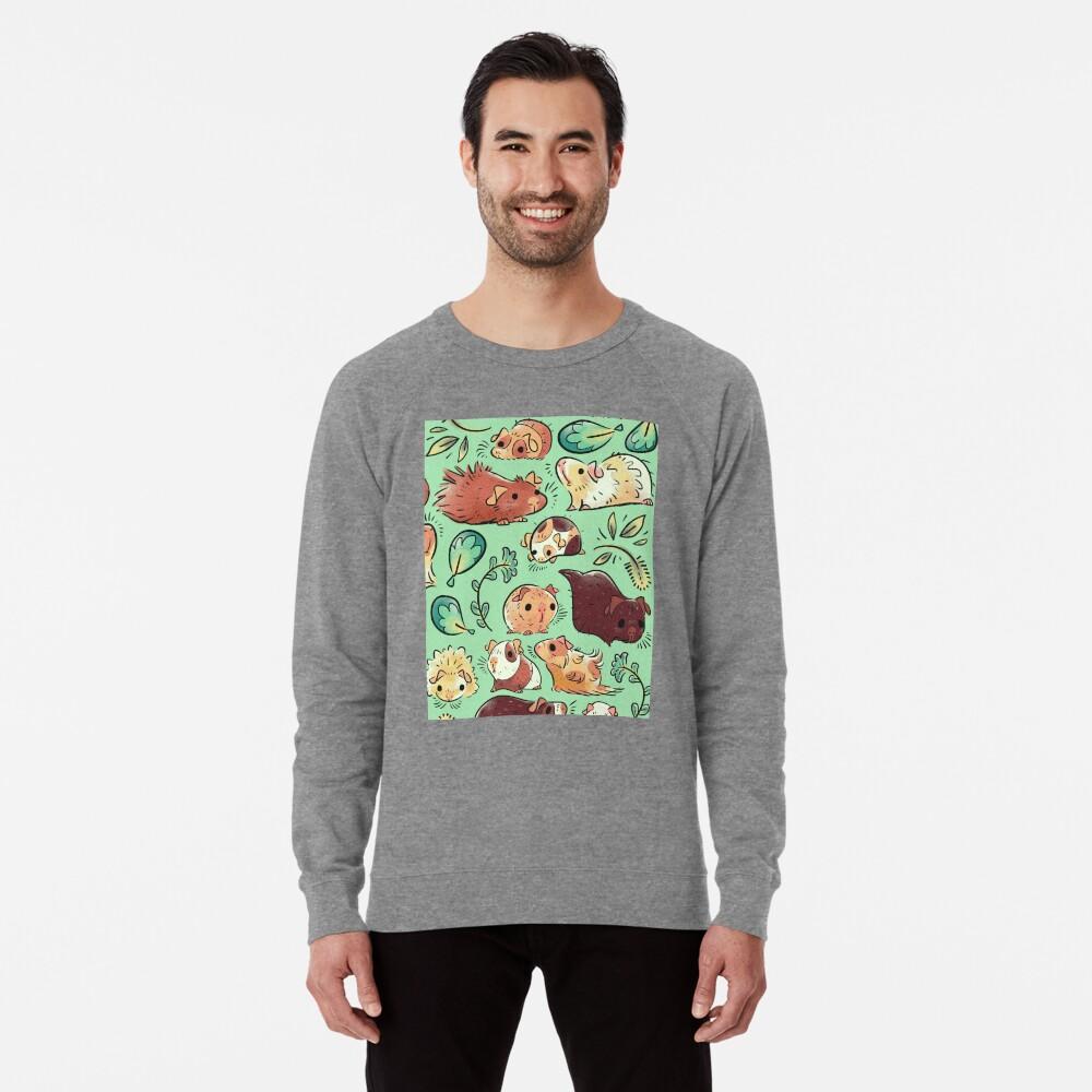 Meerschweinchen-Huddle Leichter Pullover
