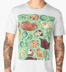 Guinea Pig Huddle Men's Premium T-Shirt