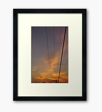 High Powered Framed Print