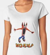 WOAH! Women's Premium T-Shirt