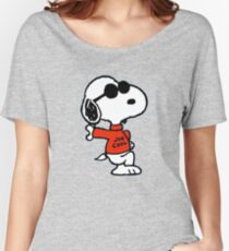 The Peanuts - Snoopy Joe Cool Women's Relaxed Fit T-Shirt