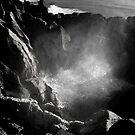 Blowhole at Punakaiki Pancake Rocks by Alex Preiss