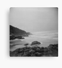 Oregon Coast with Holga Canvas Print