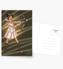 Warrior in Training Postcards
