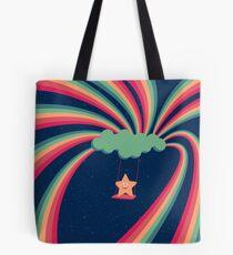 Happy Star Tote Bag