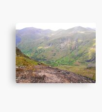 Almost at the top Canvas Print