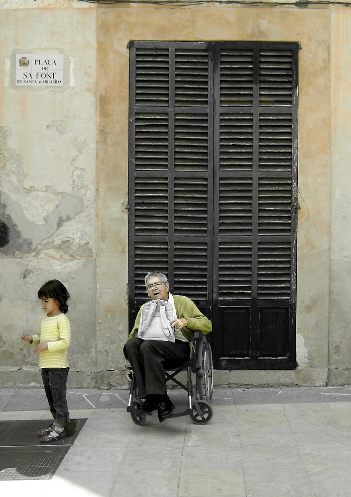 abuelo y nieta by grimbomid