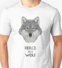 Fierce as a Wolf Unisex T-Shirt