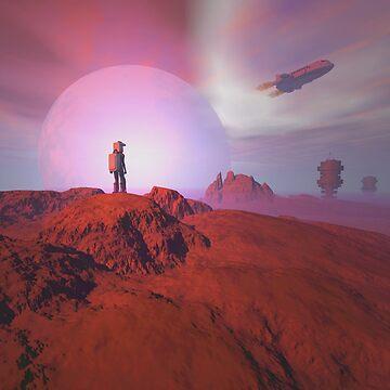 Alien landscape by fotokatt