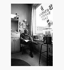 barbershop Photographic Print