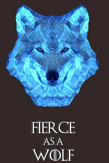 as fierce as a