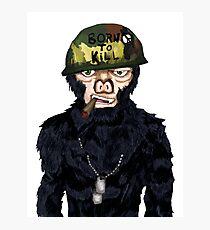 Full Metal Jacket Chimp Photographic Print