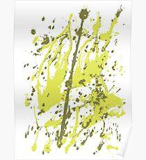 Color blot spots Poster
