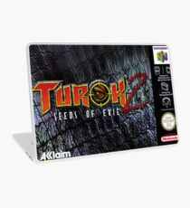 Turok 2 Box  Laptop Skin