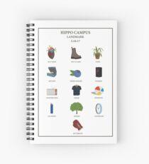 Cuaderno de espiral CARTEL DE LANDMARK