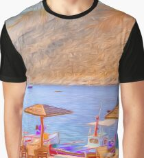 Relaxing Time Graphic T-Shirt