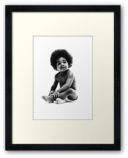 «Listo para morir Notorious BIG replica baby print» de TheJBeez